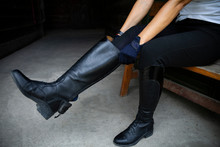 Equestrian Sport. Leather Eque...