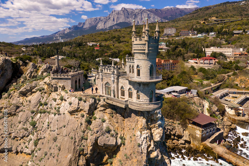 Fototapeta  Castle Swallow's Nest, Crimea