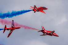 RAF Red Arrows Three Jet Burst
