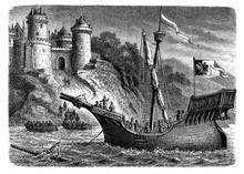 Hanseatic Ship Used By The Mer...