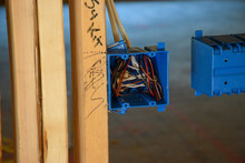 Framing With Electrical Box And Wiring