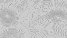 Topographic Map Lines Backgrou...
