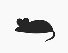 Black Mouse Icon