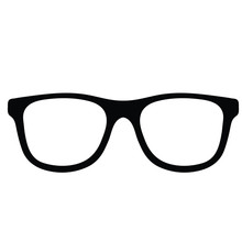 Glasses Vector Icon. Sun Glass...