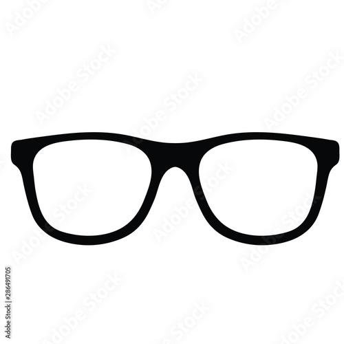 Obraz glasses vector icon. sun glasses sign - fototapety do salonu