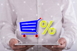 Concept of sales and discounts - 286493511