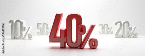 Sale 40% Obraz na płótnie