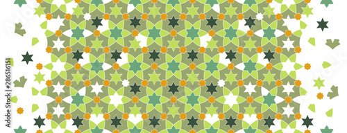 Fototapeta Arabesque vector seamless pattern