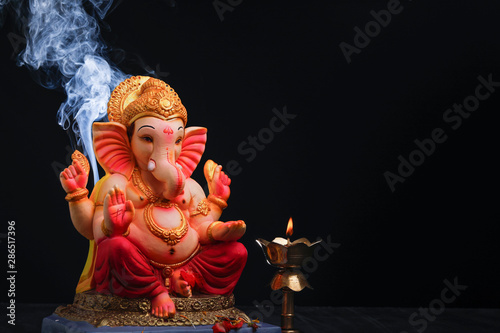 Photo Lord ganesha , Indian ganesh festival
