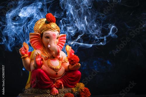 Lord ganesha , Indian ganesh festival фототапет