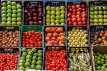 Frutas Frescas En Mercado De M...