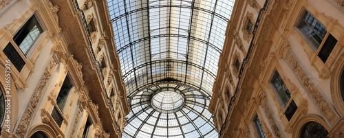 Autocollant pour porte Milan milan city, gallery, italy