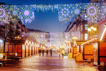 Main Christmas Square In Wrocl...