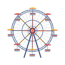 Amusement Park Ferris Wheel Fl...