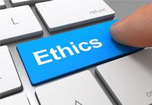 Ethics Push Button Concept 3d ...
