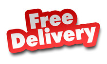 Free Delivery Concept 3d Illus...
