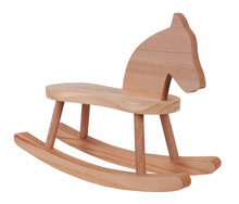 Rocking Horse Wooden Toy Vinta...