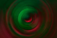 Red And Green Vortex Abstract