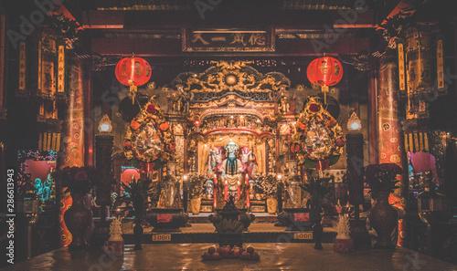 Chinatown design week by night in Bangkok Thailand - 286613943