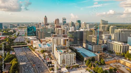 Cuadros en Lienzo  Midtown Atlanta Skyline