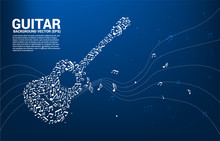 Vector Music Melody Note Danci...