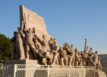 Revolutionary Monument In Fron...
