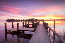 Corcoran Park Jetty Sunrise, G...