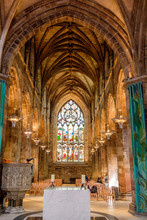St. Giles Cathedral Interior, ...