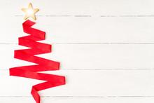 Shining Star In Christmas Tree