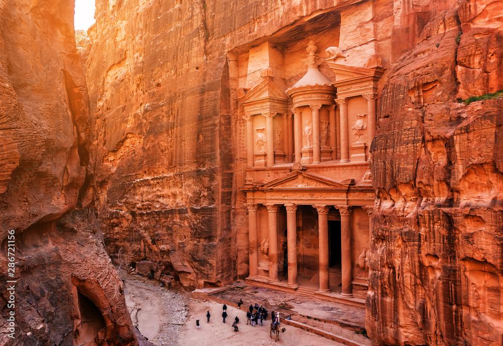 Fototapety, obrazy: Al Khazneh (The Treasury) in Petra