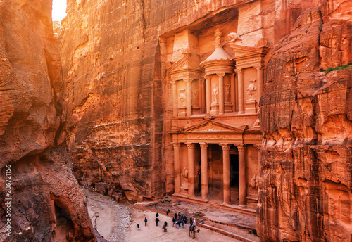 Foto Al Khazneh (The Treasury) in Petra