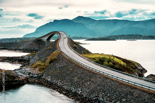 Atlantic road. Norway Obraz na płótnie