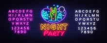 Halloween Party Neon Sign Desi...