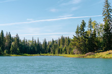 Canadian Landscape - Lake In D...