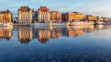 Stockholm Waterfront With Old ...