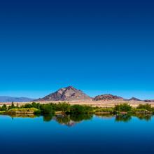 Nevada Desert Landscape With V...