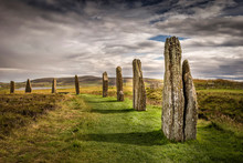 Ring Of Brodgar, Orkney, Scotl...
