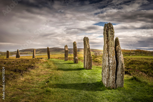 Fotografie, Tablou  Ring Of Brodgar, Orkney, Scotland