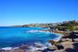Beautiful view at Bondi Beach Sydney Australia