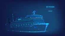 Ocean Liner, Ship From Polygon...
