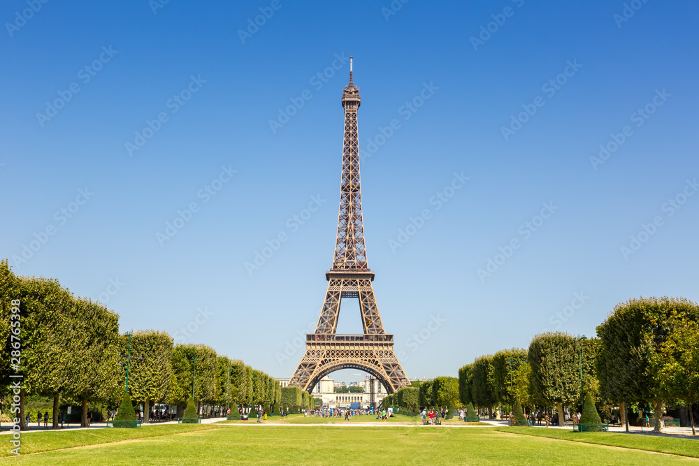 Fototapety, obrazy: Paris Eiffel tower France travel landmark