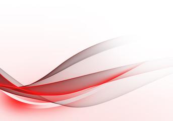 Abstract bright background with red and grey dynamic lines for wallpaper, business card or template