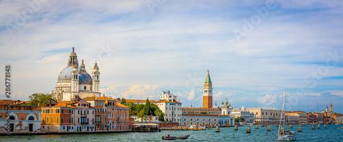 Cuadros en Lienzo Campanile di San Marco in the sunny day in Venice, Italy