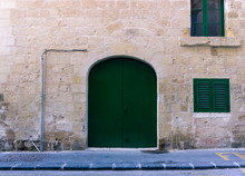 Old And Weathered Doors Of Malta