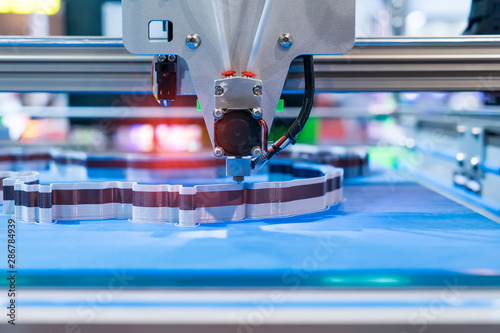 Cuadros en Lienzo Three dimensional printing machine,3D printer.