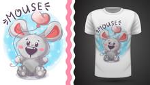 Cute Teddy Mouse - Idea For Pr...