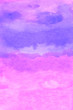 Leinwandbild Motiv Pink abstract watercolor background
