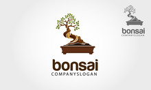 Bonsai Logo Template Illustrat...