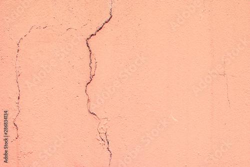 Fotografía  Old wall of plaster.