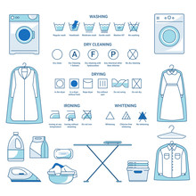 Dry Cleaning And Washing, Iron...